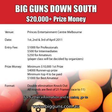 Big Guns 'Down South' – April 2011