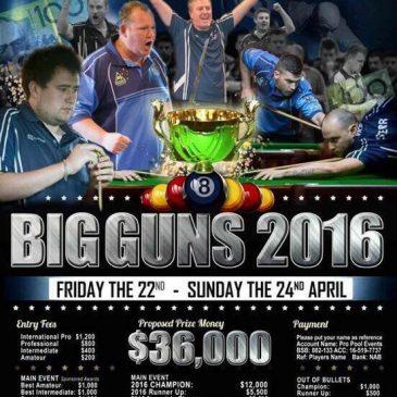 2016 Big Guns Poster