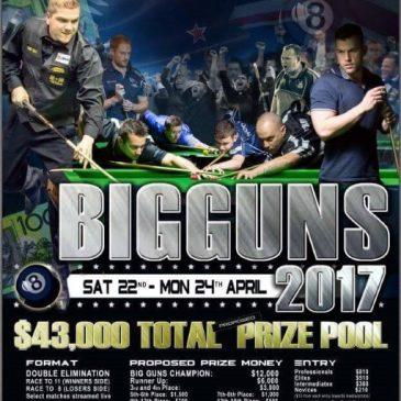 2017 Big Guns Poster